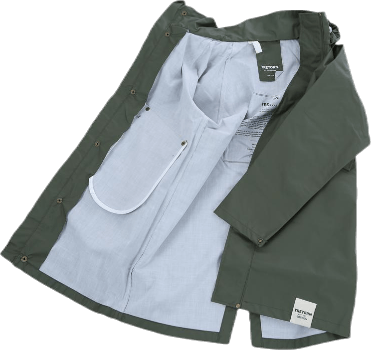 Junior PU Parka Green