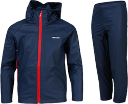 Packable Rain Set Youth Blue