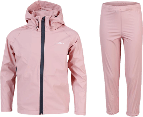 Packable Rain Set Youth Pink