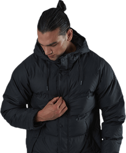 Baffle Jacket Black