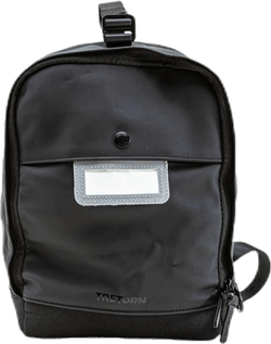 Wings Mini PU Waterproof Backpack Black