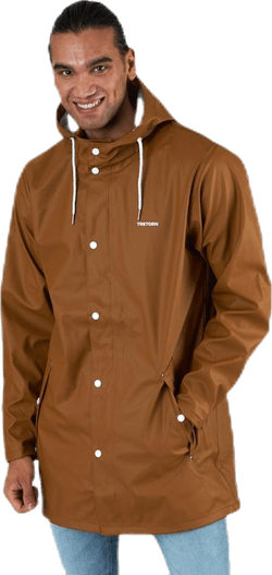 Wings Rain Jacket Brown
