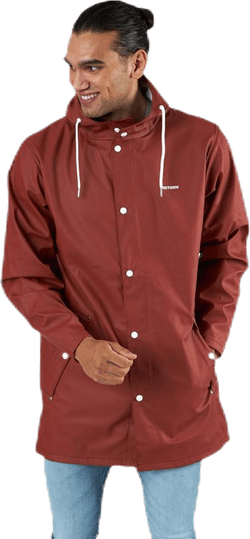 Wings Rain Jacket Brown/Red
