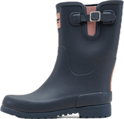 Jr June Rubber Boot Blue/Pink