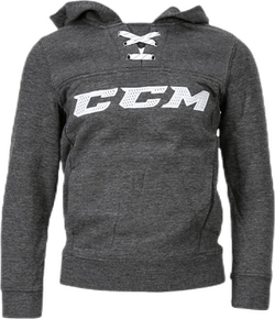 Hockey Hoody Jr Gr 120 Grey