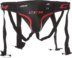 Jock Combo Jr Black/Red