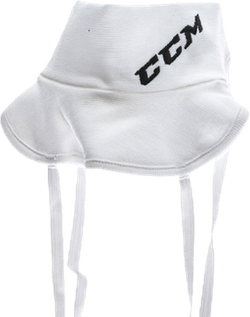 Pro Neck Guard Sr White
