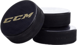 CCM Puck JR 3-Pack Black