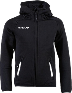 Full Zip Hood Jr Black
