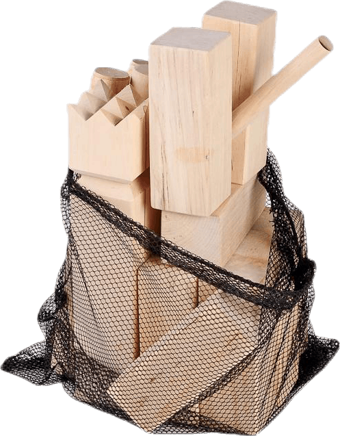 Kubb Family Including Area Markers Beige