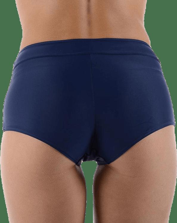Alanya Boxer w. String Blue/Pink