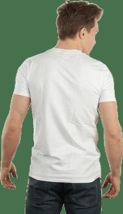 No Nonsense Round Neck T-Shirt White