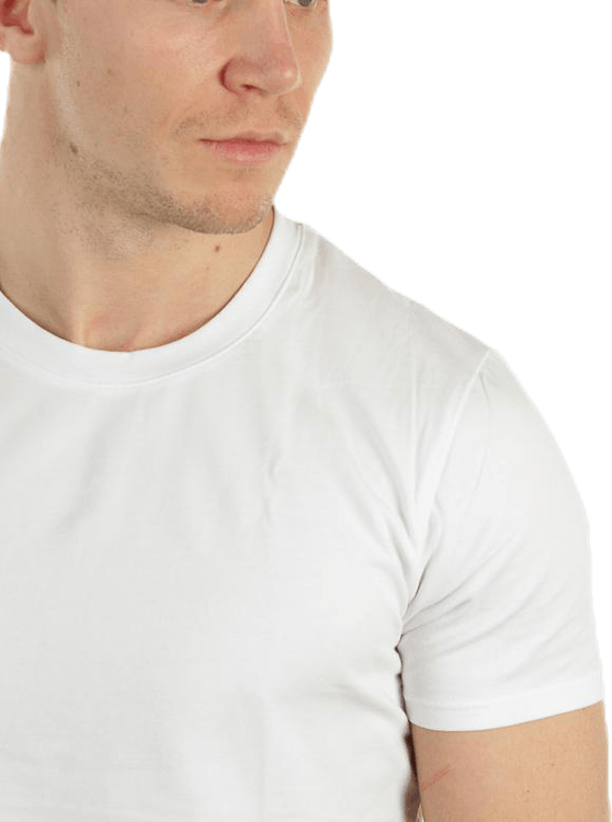No Nonsense Round Neck T-Shirt White