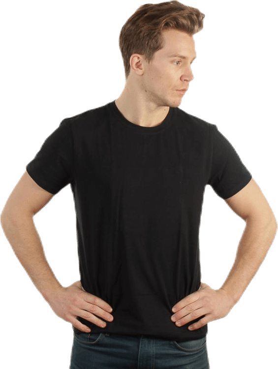 No Nonsense Round Neck T-Shirt Black