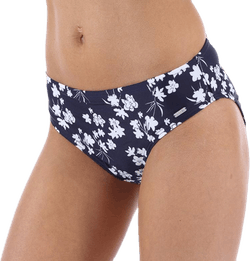 Blue Flower Brief Blue/White