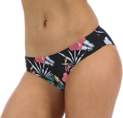 Palm Beach Brief Patterned/Black