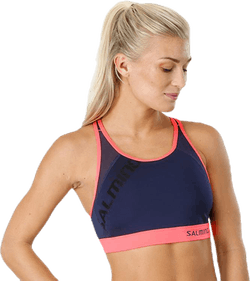 Core Support Sports Bra Blue