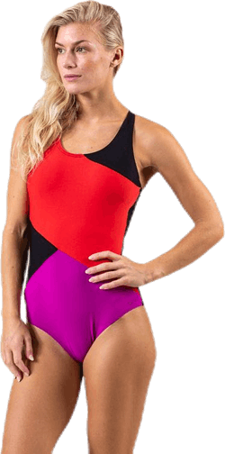 Motion Swimsuit Black/Red