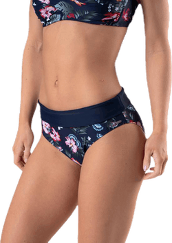 Hawaii Folded Brief Blue/Patterned