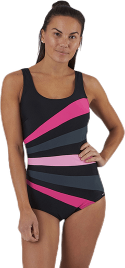 Action Swimsuit Pink/Black