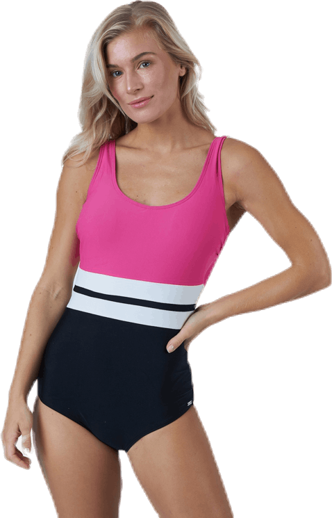Piquant Swimsuit Pink/Black