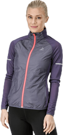 Irbis Hybrid Seamless X-Warm Jacket Pink/Grey