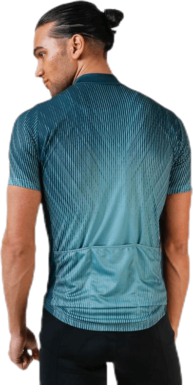 Stand-up-collar SS Full Zip Element Patterned