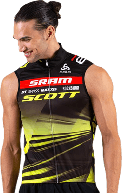 Vest Scott Sram Racing Patterned
