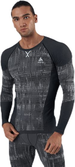 Blackcomb LS Crew Neck Top Black