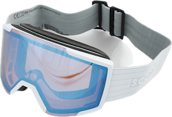 Goggle Shield + Extra Lens Blue/White