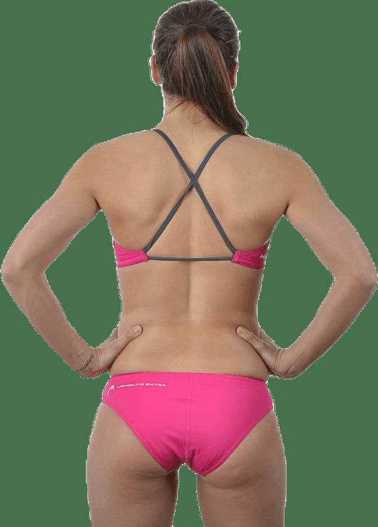 Cross Bikini Extra Pink