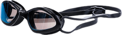 Tiger Mid Race Mirrored Goggle Black