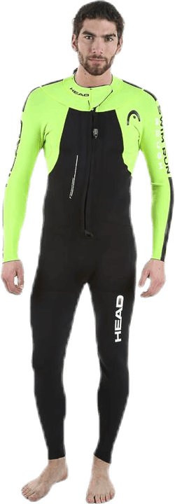 Swimrun Rough Black/Yellow