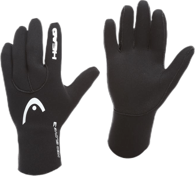 Gloves HEAD 3mm Black