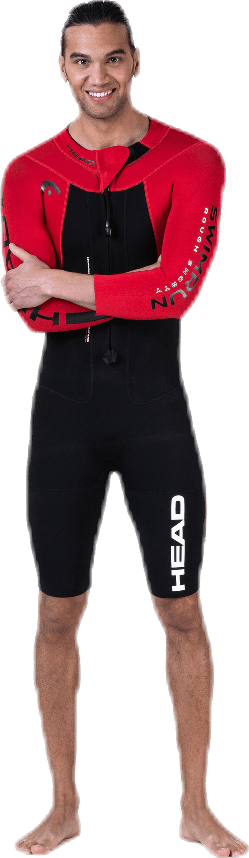 Swimrun Rough Shorty Black/Red