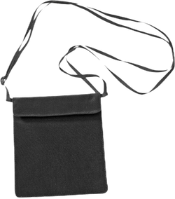Secret Passport Wallet Silk Black