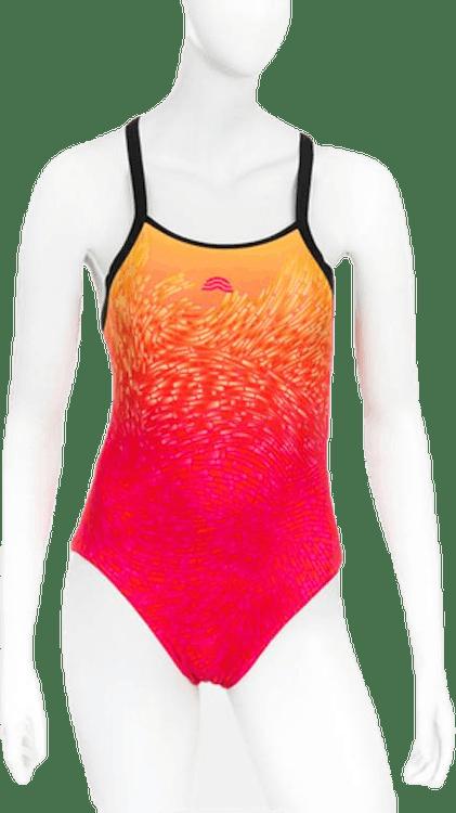 Atlanty Swimsuit Pink/Orange