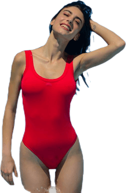 Arcos Swimsuit Red