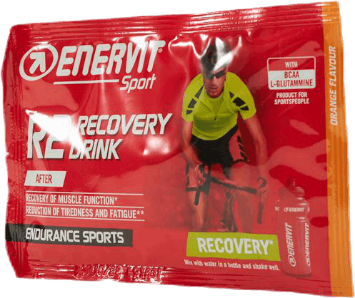 E.Sport Recovery Drink 50g Orange Yellow/Red