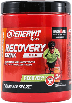 E.Sport Recovery Drink 400g Orange Patterned