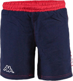 Jr. Swim Shorts, Logo Birtec Blue/White/Red