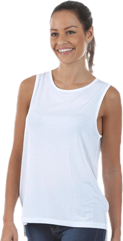 Loose Tank Top White