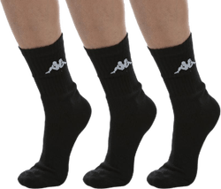 Tennis Trisper Socks 3pk White/Black