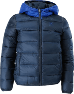 Hooded Youth Jacket Blue