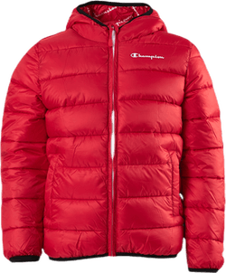 Hooded Jacket Jr Red