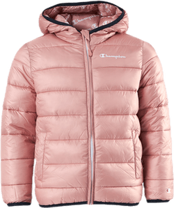 Hooded Jacket Jr Pink