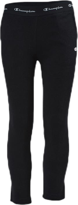 Straight Hem Pants Jr Black