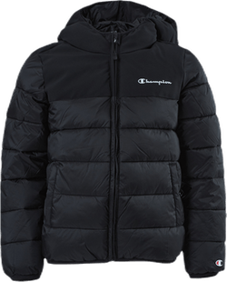 Hooded Jacket Jr Black