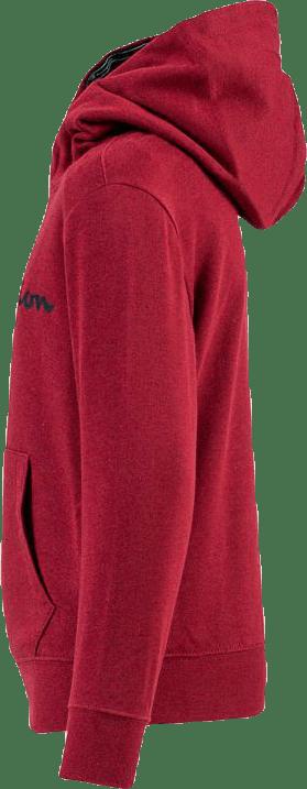 Jr Hooded Sweatshirts Red