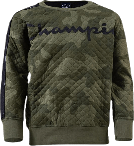 Crewneck Sweatshirt Patterned/Green